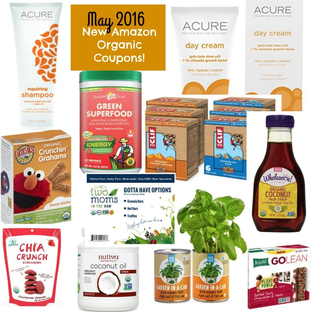 amazon organic coupons may 2016