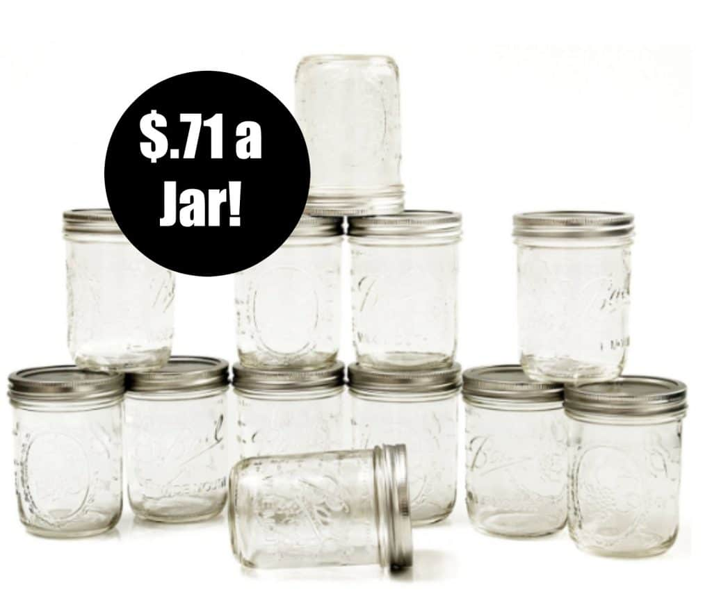 canning jars $.71 amazon