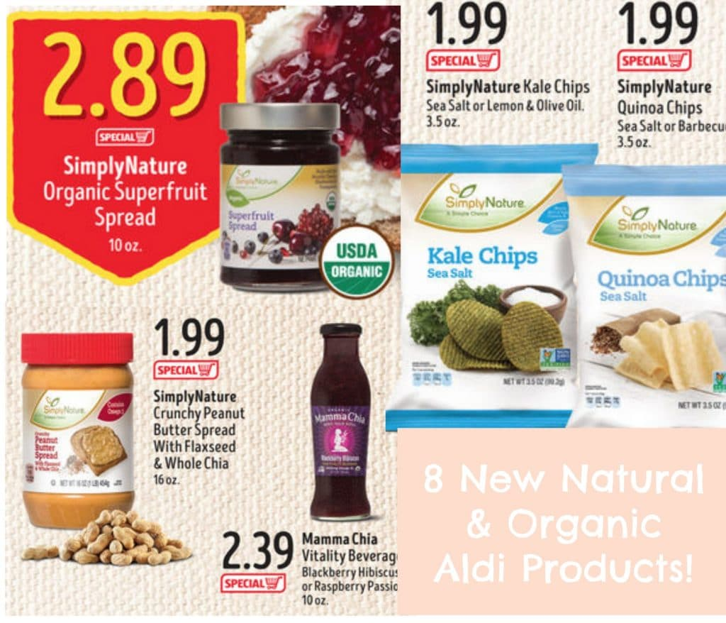 new aldi organic simplynature natural products may 2016