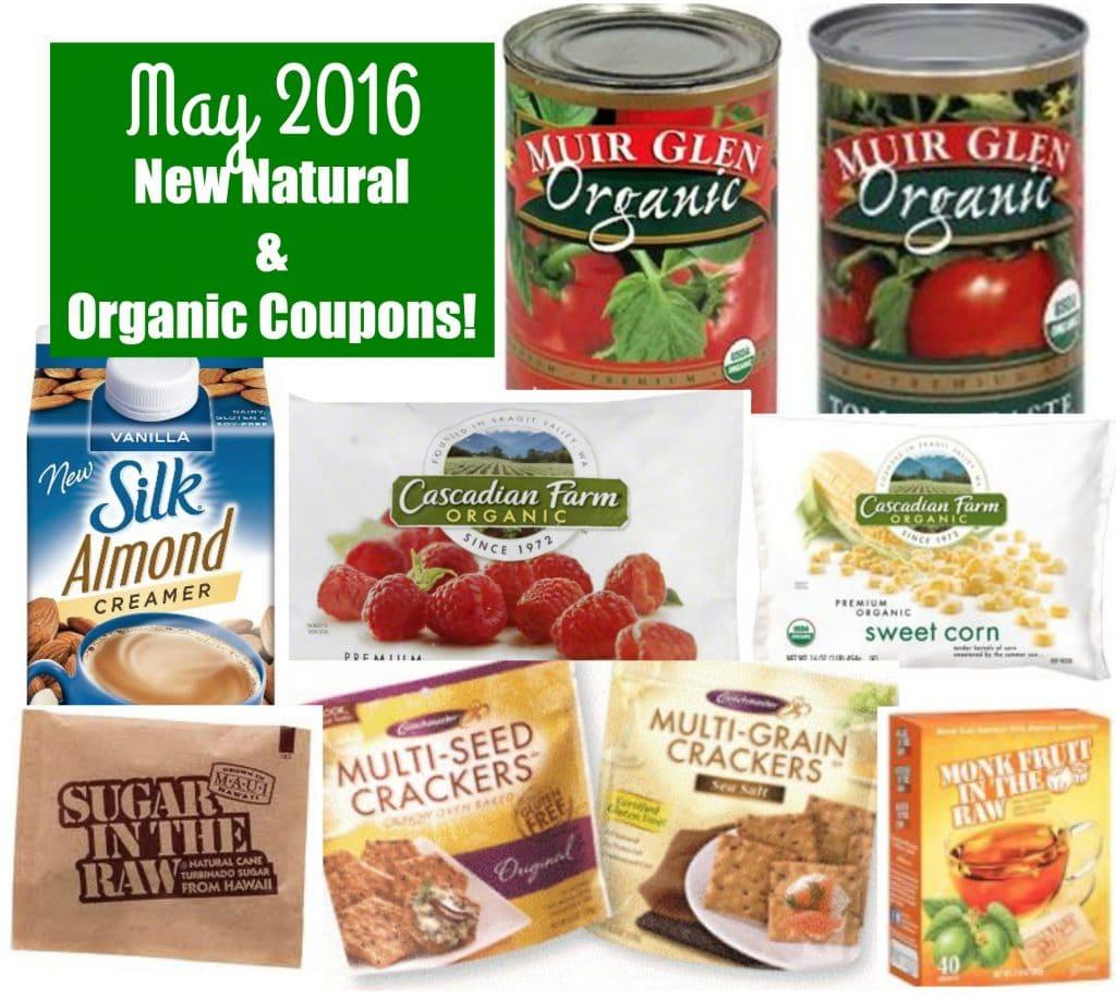 new natural and organic coupons may 2016