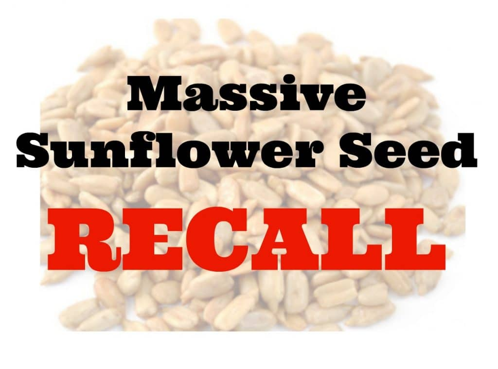 sunflower seed kernel recall may 2016