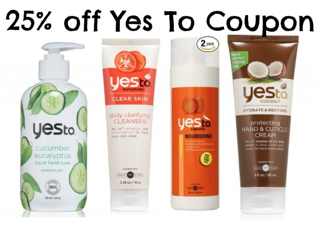 yes to coupon amazon
