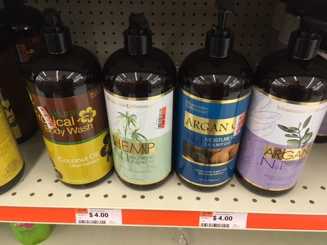 natural shampoo and body wash big lots