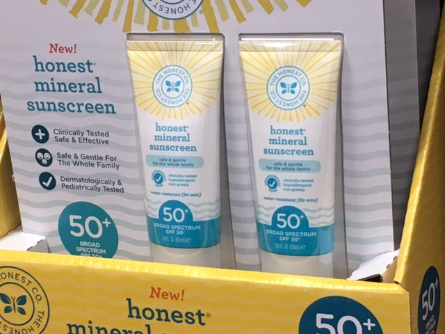 the honest co. sunscreen costco