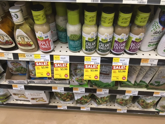 hilary's eat well salad dressing whole foods
