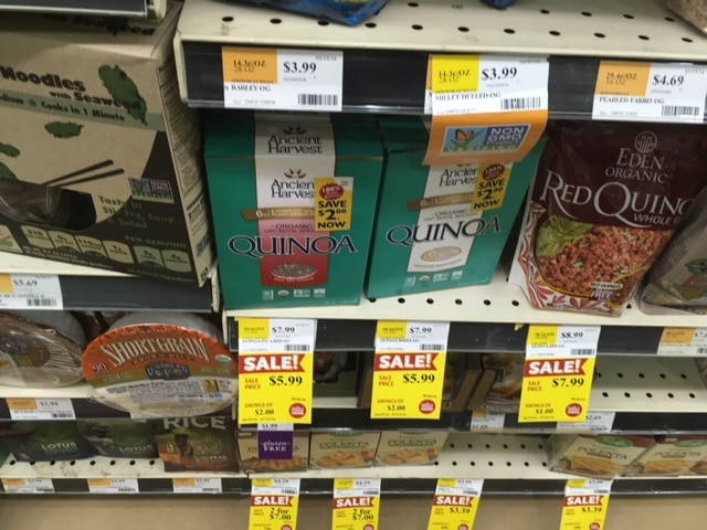 ancient harvest quinoa whole foods