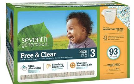 seventh generation diaper sale target