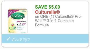 $5 culturelle coupon