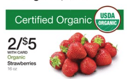 kroger organic strawberry sale