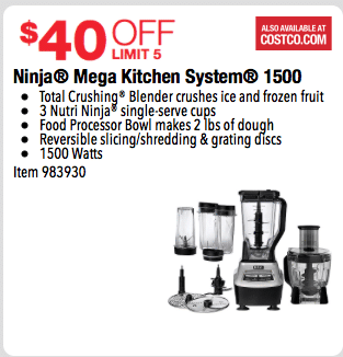 costco ninja blender system