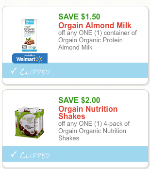 orgain organic protein coupons
