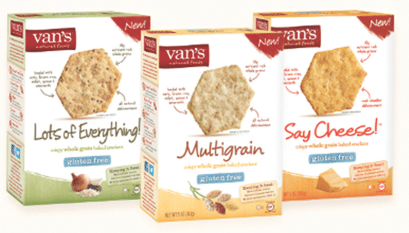 free van's crackers at target