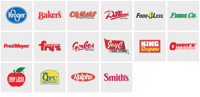 list of kroger affiliate stores
