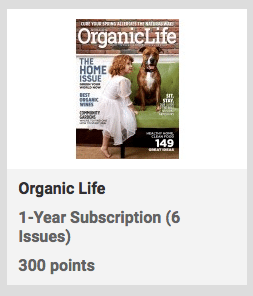organic life free subscription