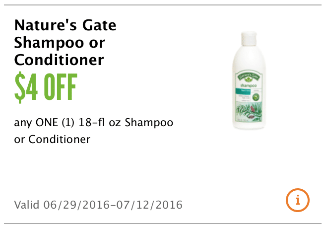nature's gate coupon $4