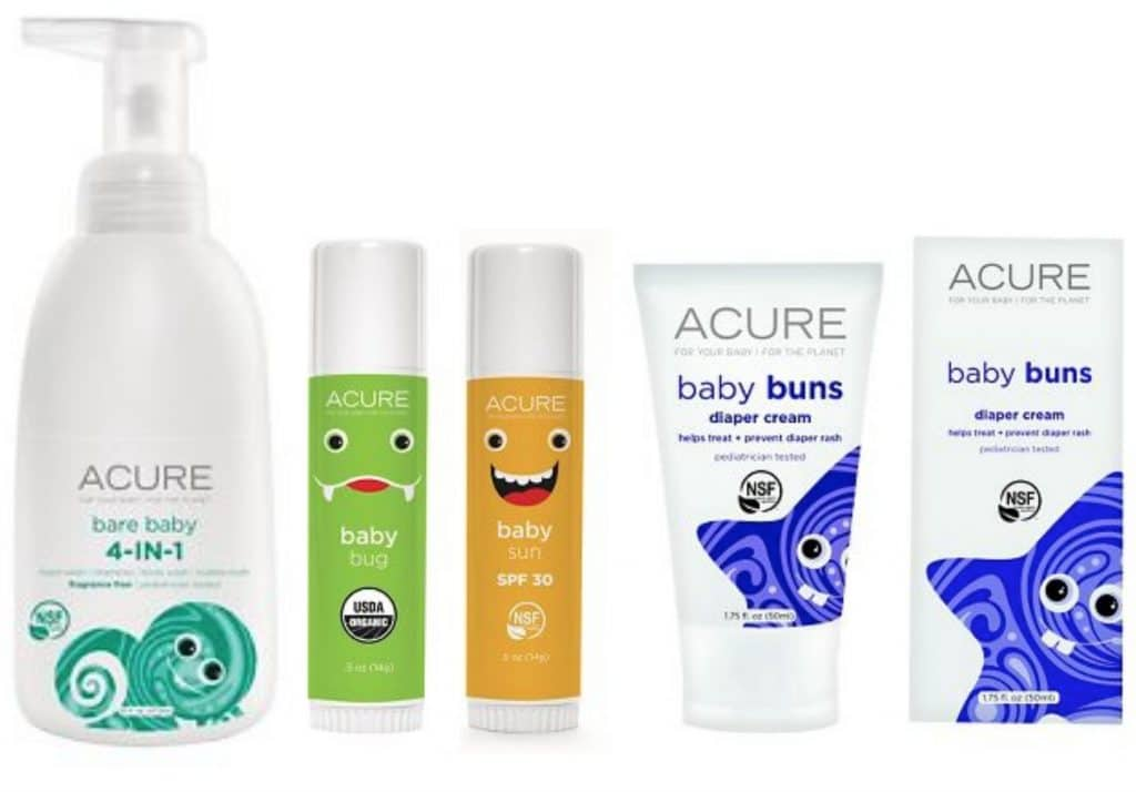 acure coupon target