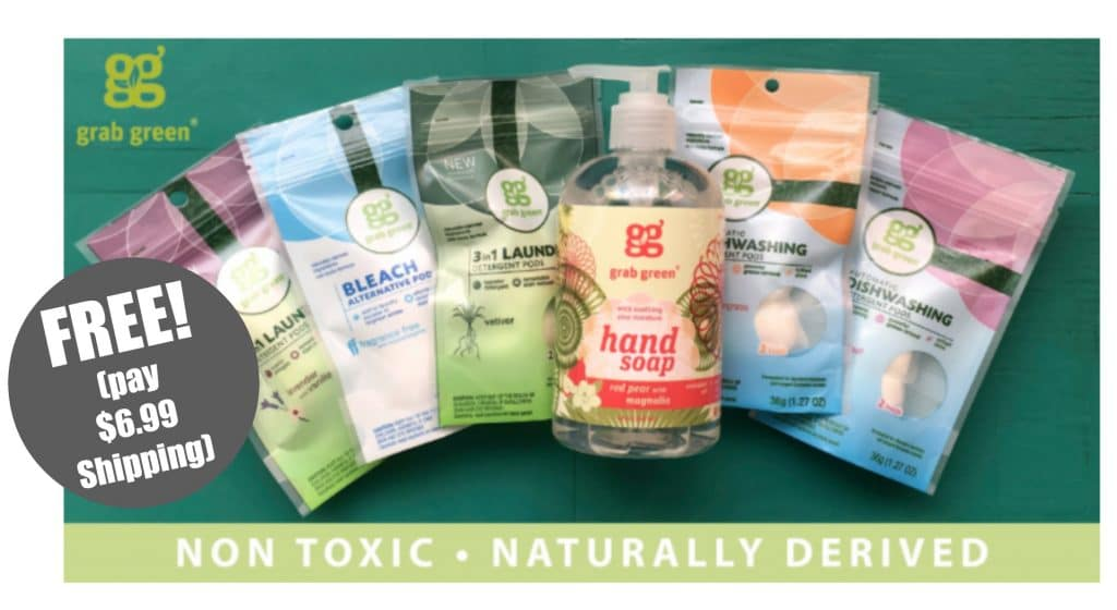 free grab green bundle natural cleaning