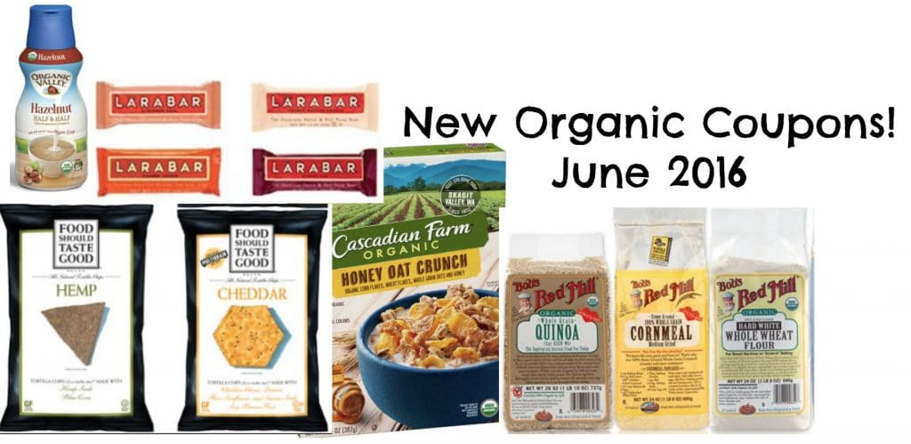 organic coupons june 2016