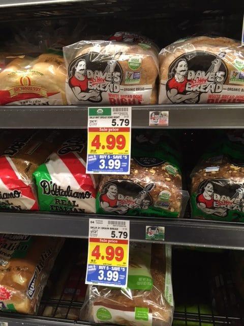 dave's killer organic bread kroger
