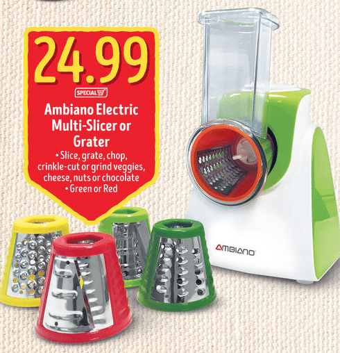 veggie spiralizer at aldi vegetable
