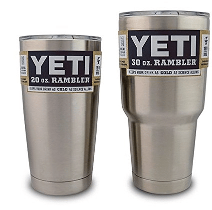 yeti rambler tumbler set lowest price amazon