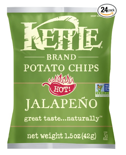 kettle chips $.50 a bag