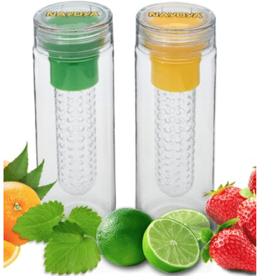 fruit infuser water bottles $6