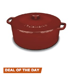 cast iron deals daily amazon