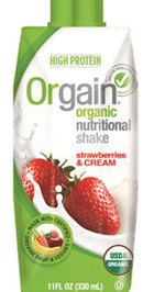 free orgain beverage at whole foods