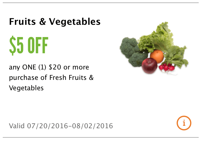 whole foods market $5 organic produce coupon
