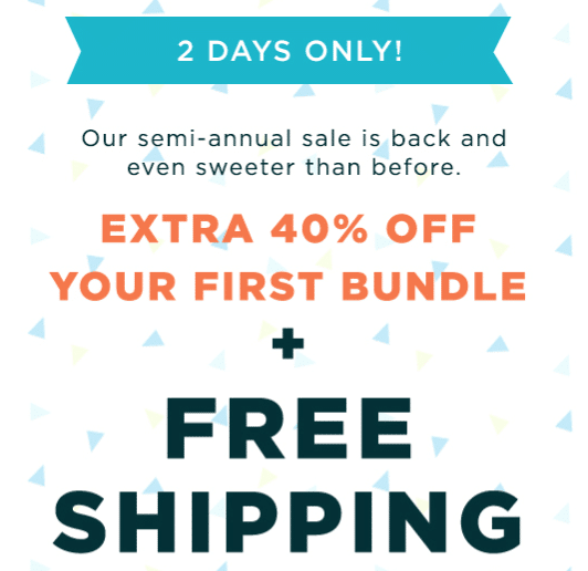 the honest co bundle coupon code and free shipping