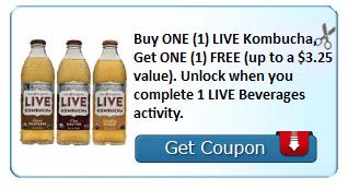 live kombucha bogo coupon