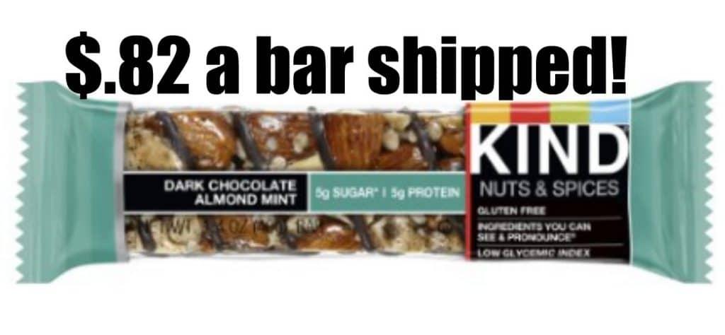 kind bars $.82