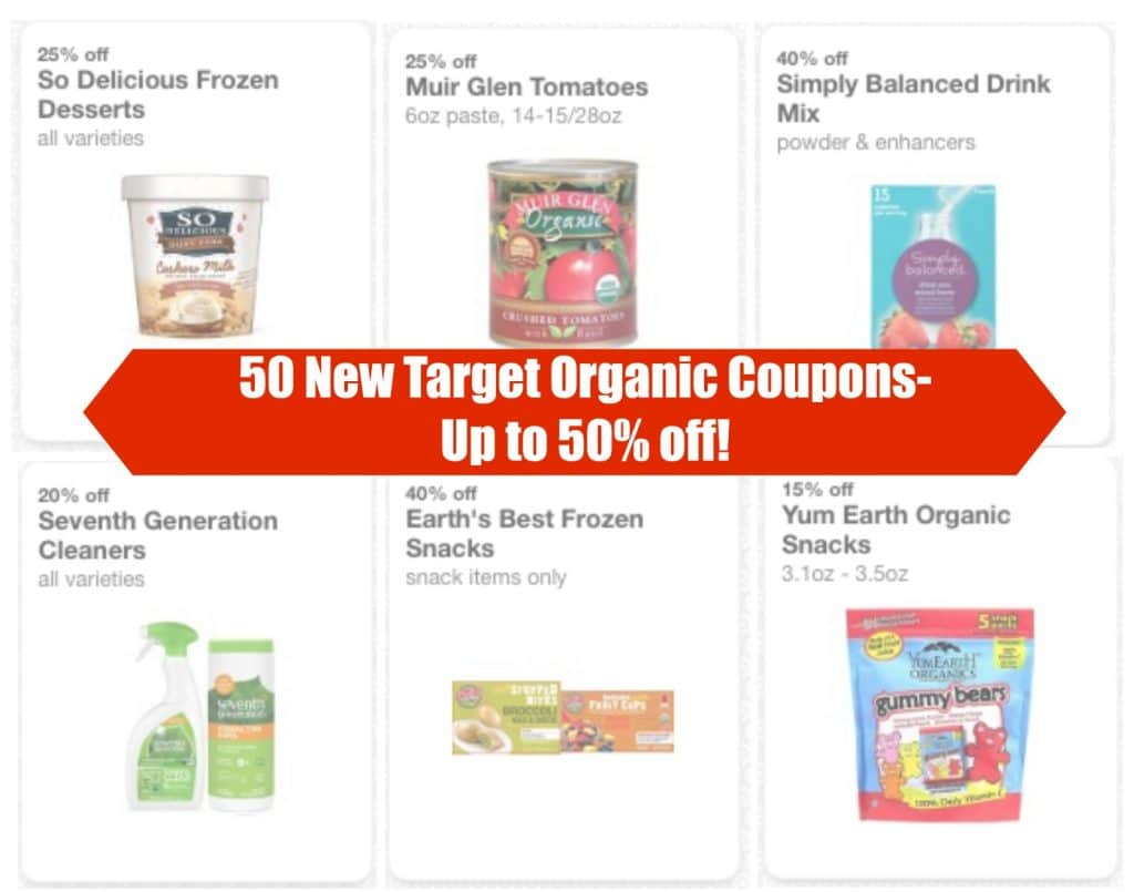 natural and organic coupons july 2016 target cartwheel