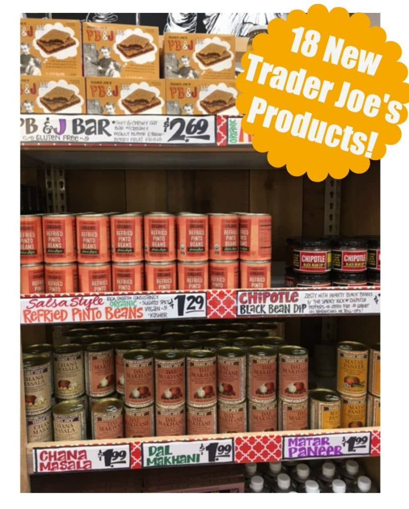 new trader joe's products price list