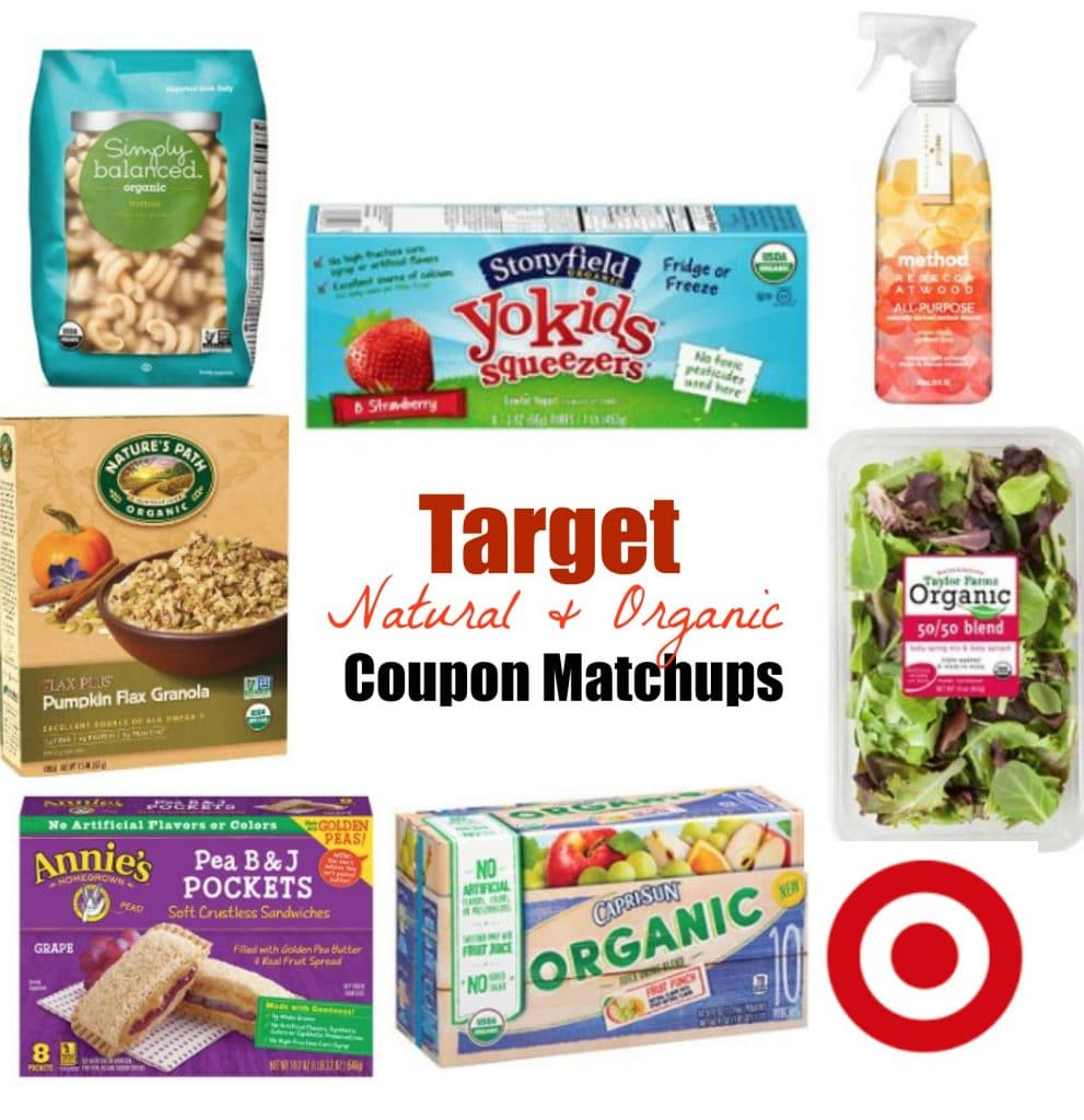 target organic coupon matchups july 2016