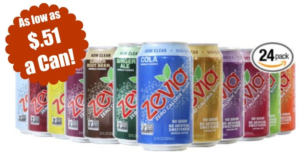 zevia soda amazon coupon