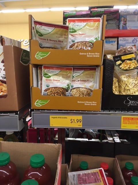 simplynature organic heat and serve rice quinoa