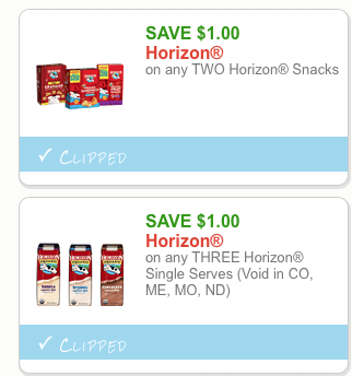 horizon organic coupons