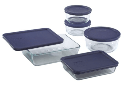 pyrex glass food storage amazon