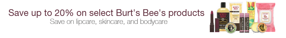 burt's bees deal of the day amazon