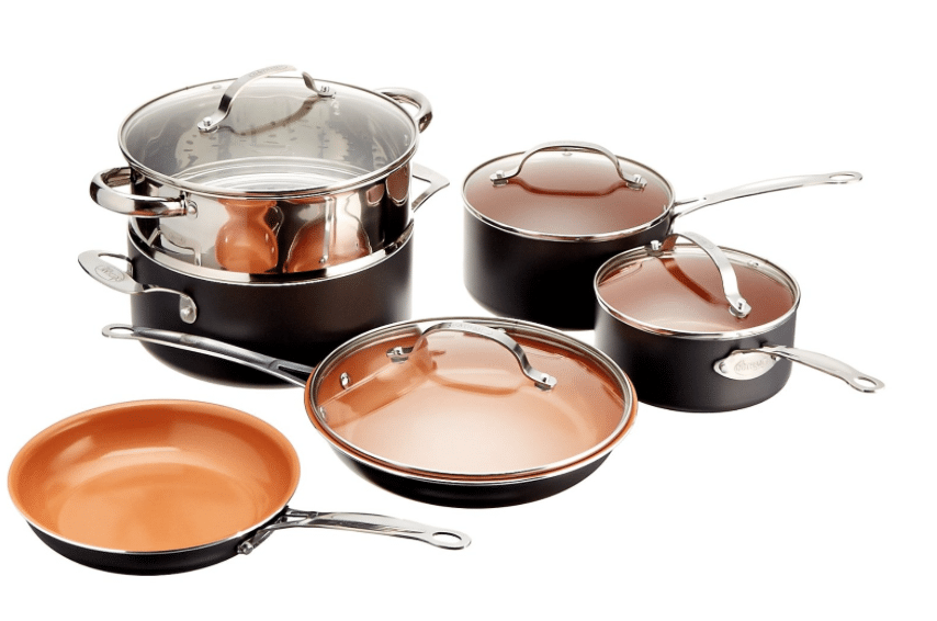 ceramic coated non stick cookware amazon deal of the day