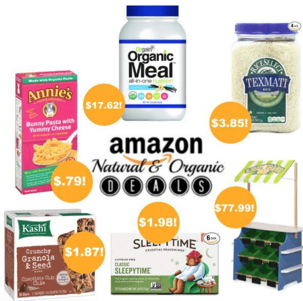 amazon organic deals 8/28