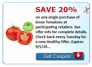 organic tomatoes coupon