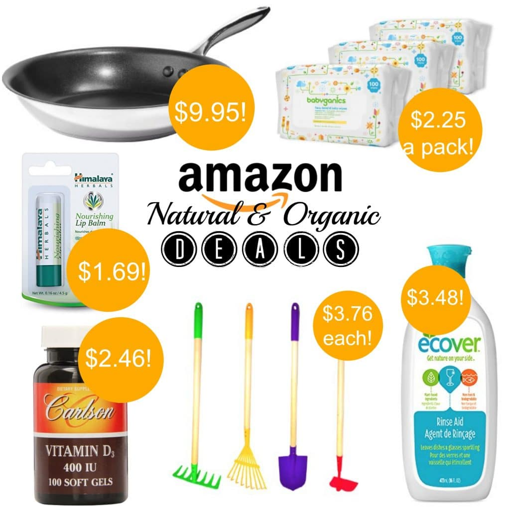 hot natural and organic amazon deals 8916