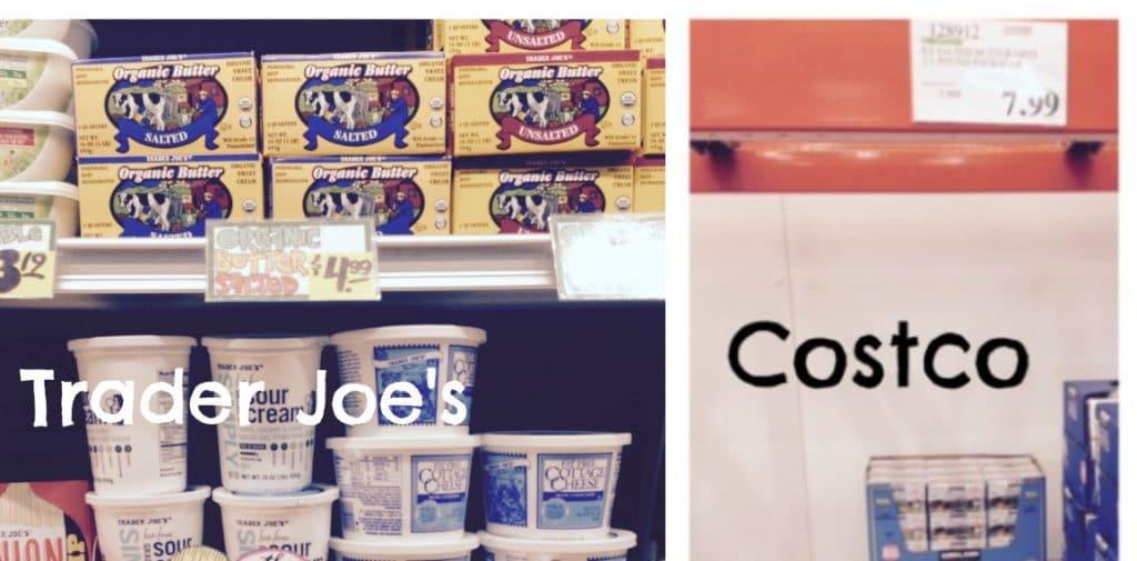 organic butter trader joe's and costco