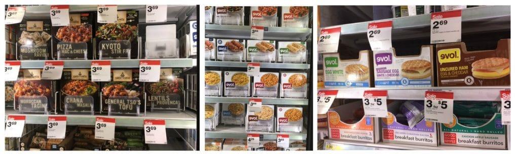 organic frozen food target