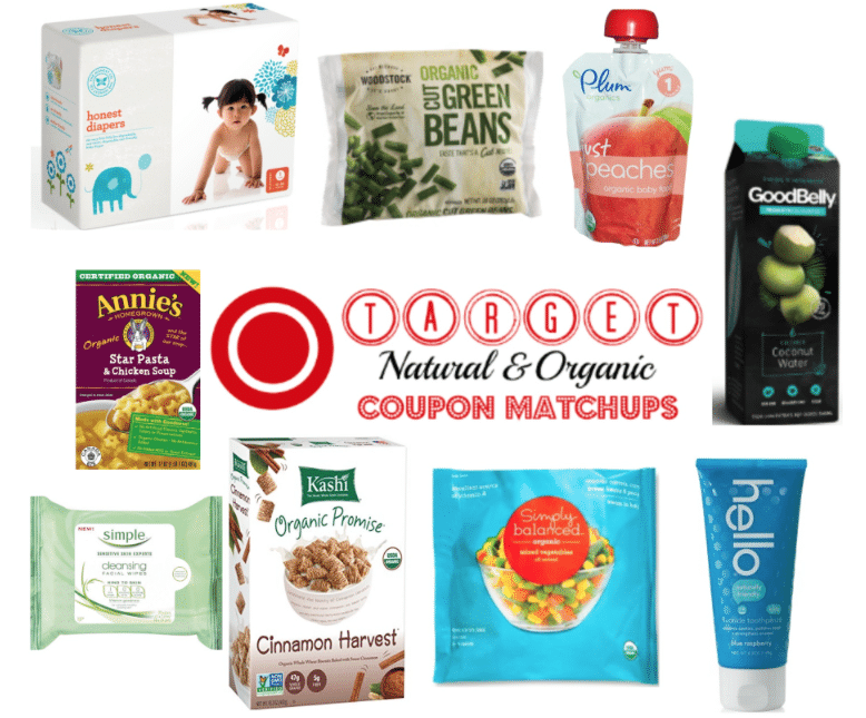 target organic coupons matchups and deals 9/4/2016
