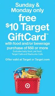 target grocery coupon
