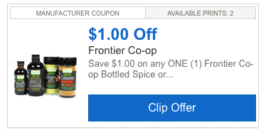 frontier co op coupon